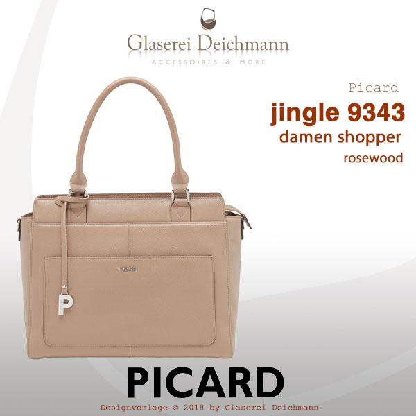 ee260e18e5c07 picard jingle damen shopper rindleder 9343 rosewood